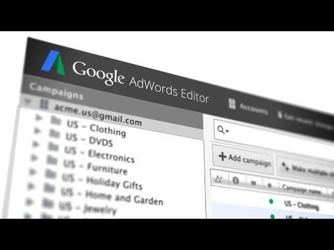Google AdWords Editor, Turned Up To 11