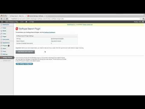 Swiftype Search Wordpress Plugin Demo