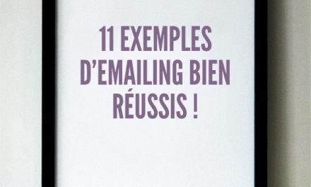 Exemple de newsletter : 11 exemples d'emailing bien réussis !