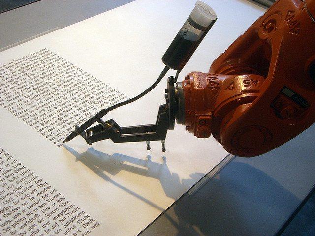 Ecrivez comme un robot