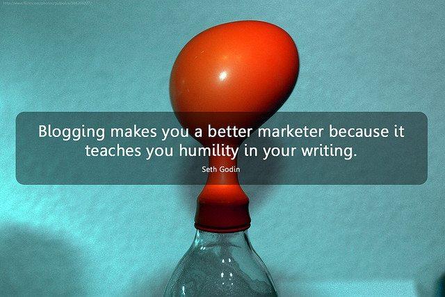 Bloguer vous fait devenir un meilleur marketeur