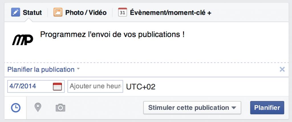 TPE / PME : programmez vos publications Facebook