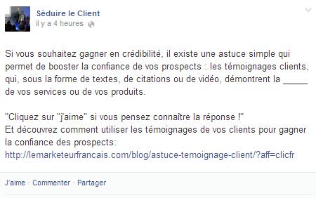 TPE / PME : Utilisez un ton proche et original sur Facebook