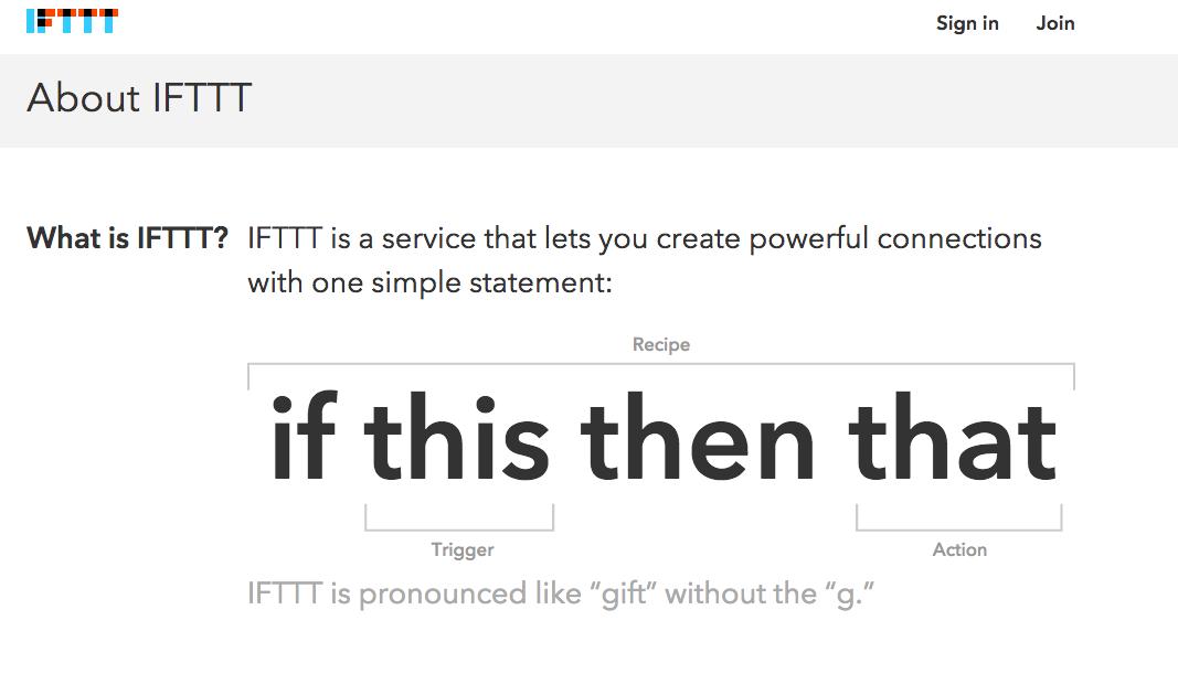 Prospecter plus efficacement avec IFTTT