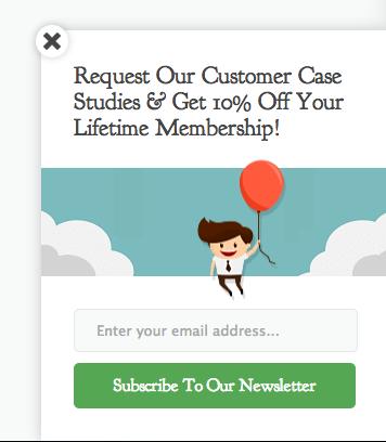 Proposez un bon de réduction pour booster le nombre d'abonnés à votre newsletter