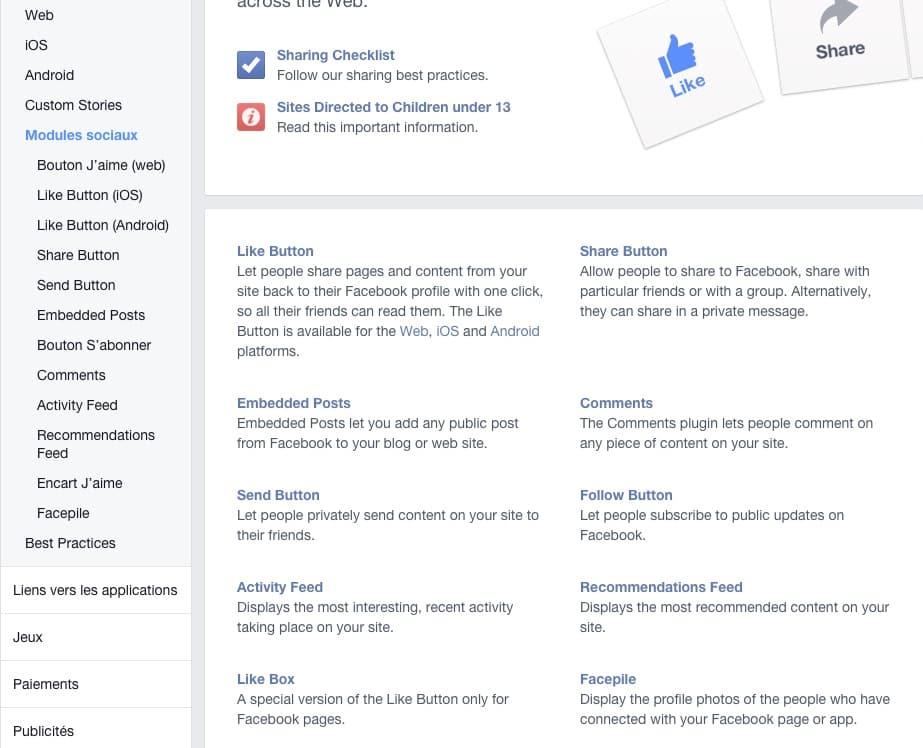 Plus de fans Facebook : Utilisez des badges et modules Facebook sur votre site WordPress