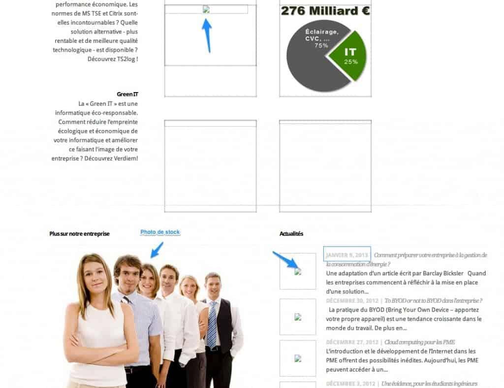 Problème fréquent sur les sites WordPress des TPE et entrepreneurs : Un site qui semble être abandonné
