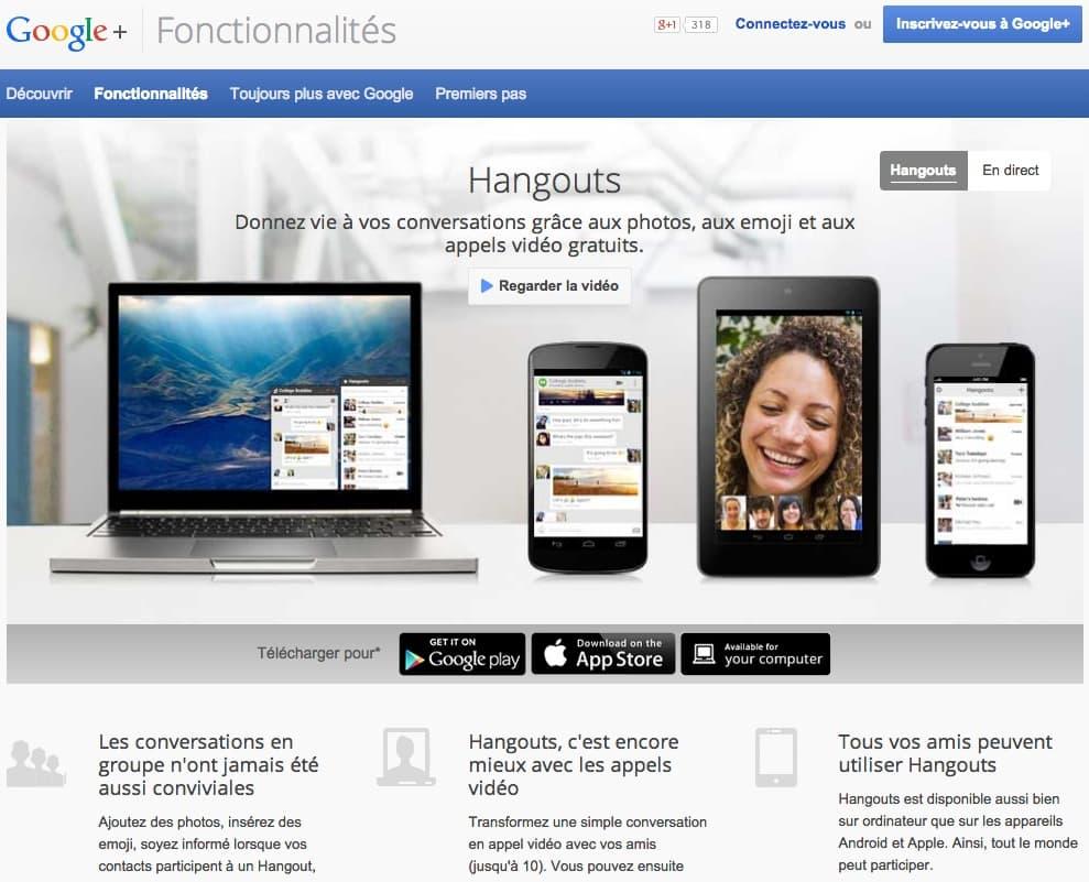 Organisez des séminaires en ligne avec Google+