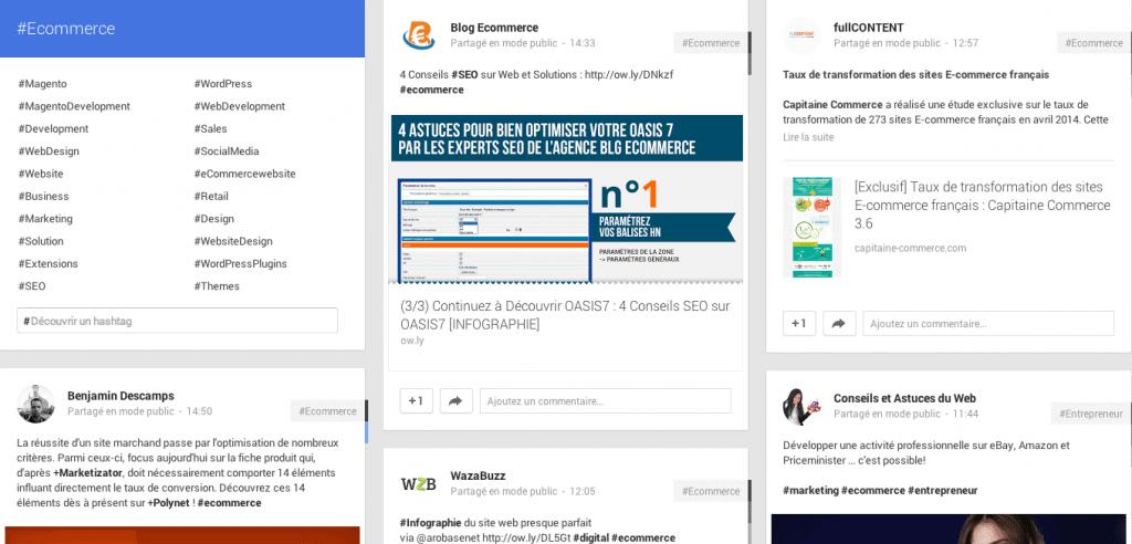 Repérez les tendances actuelles avec Google+