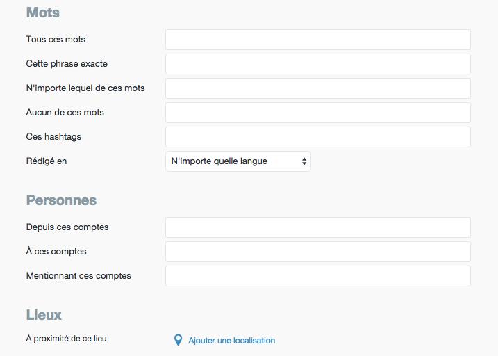 Trouvez des clients sur Twitter avec l'outil de recherche avancée
