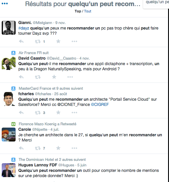 Dénichez des clients sur Twitter en effectuant des recherches ciblées