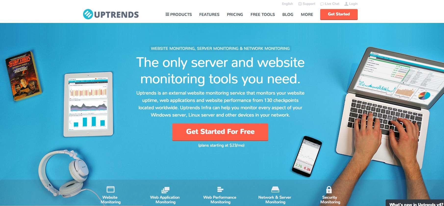 Monitorez votre site avec Uptrends