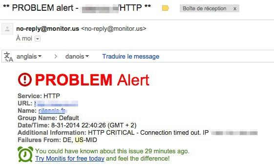 Exemple d'alertes Monitor.Us