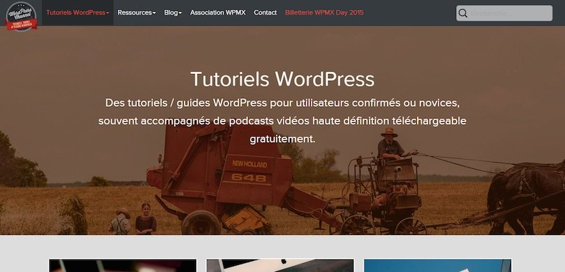 WordPress Channel (gratuit, en français)
