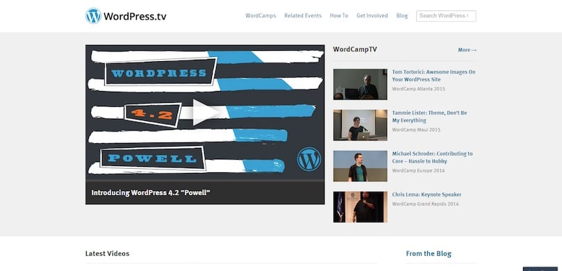 WordPress TV par Automattic (gratuit)