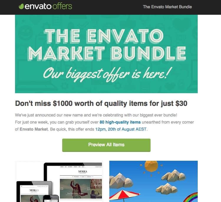 Pour ne pas vous faire avoir sur ThemeForest, faites attention aux offres de « bundles »
