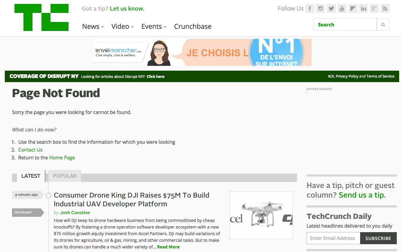 Transformez vos erreurs 404 en pages indexées