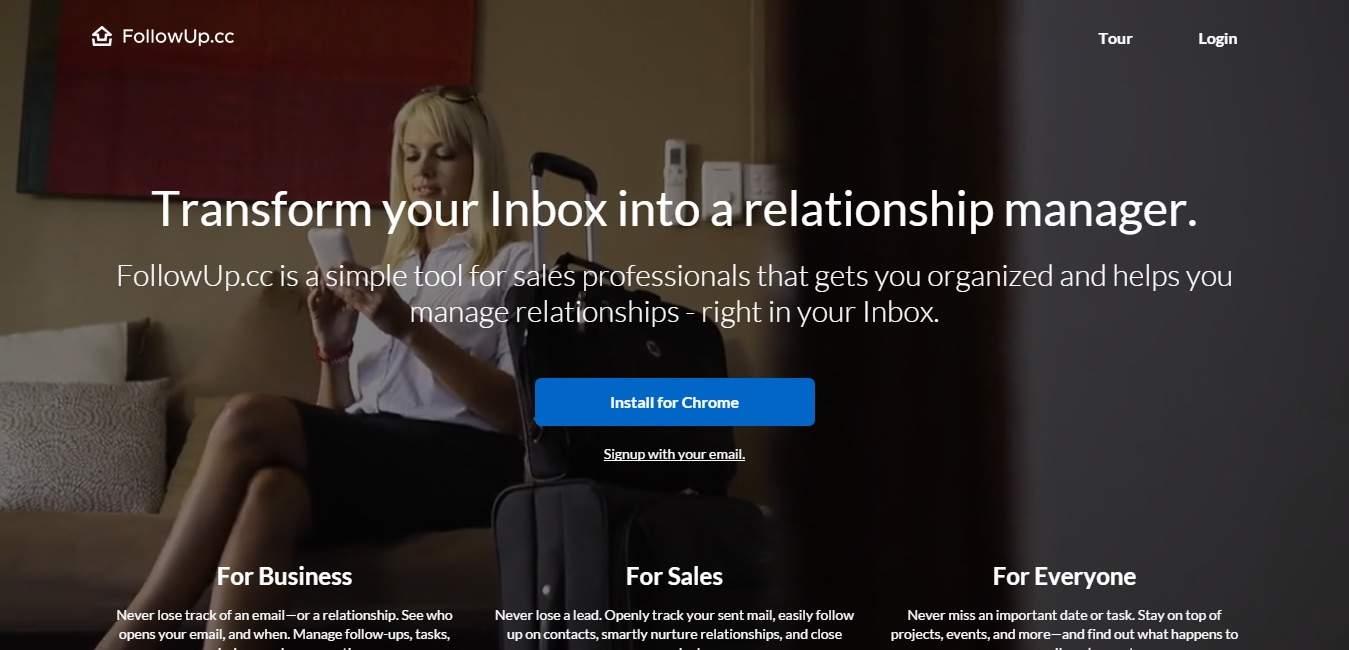 FollowUp.cc : faites de votre boîte mail un véritable levier de prospection
