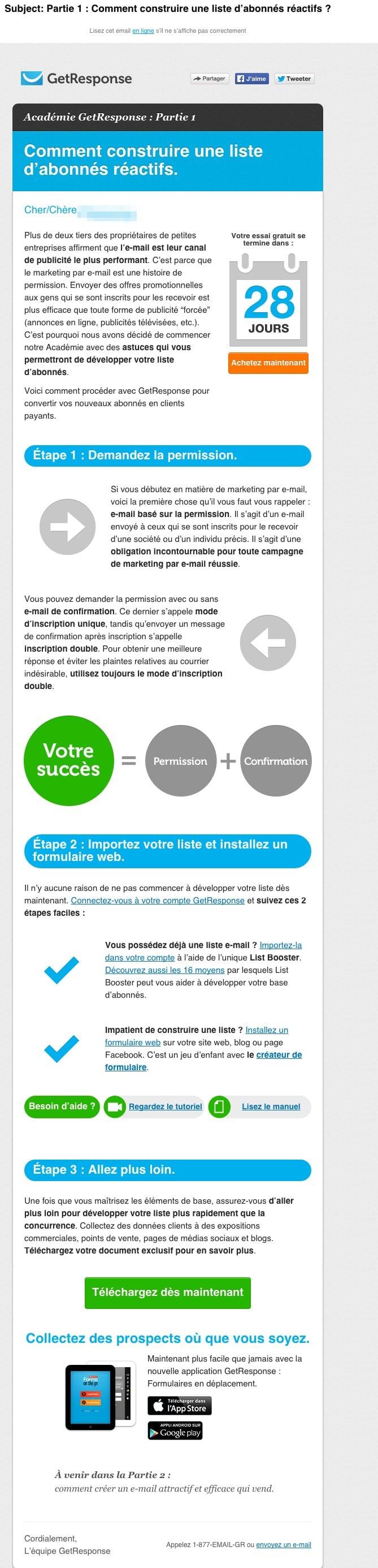 Fabulous Exemple de newsletter : 11 exemples d'emailing bien réussis ! II32
