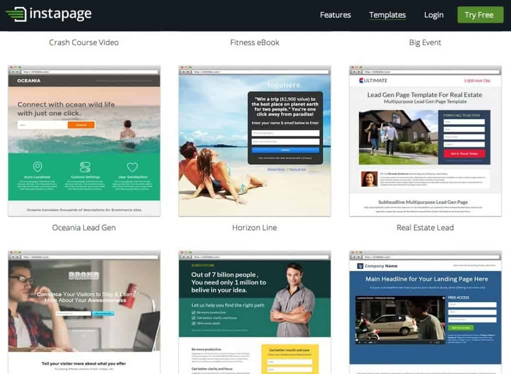 Solutions landing pages compatibles avec WordPress : Instapage