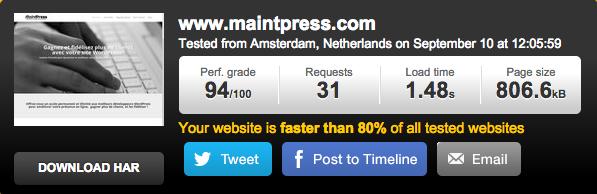 Optimiser la vitesse de chargement de votre site avec Pingdom