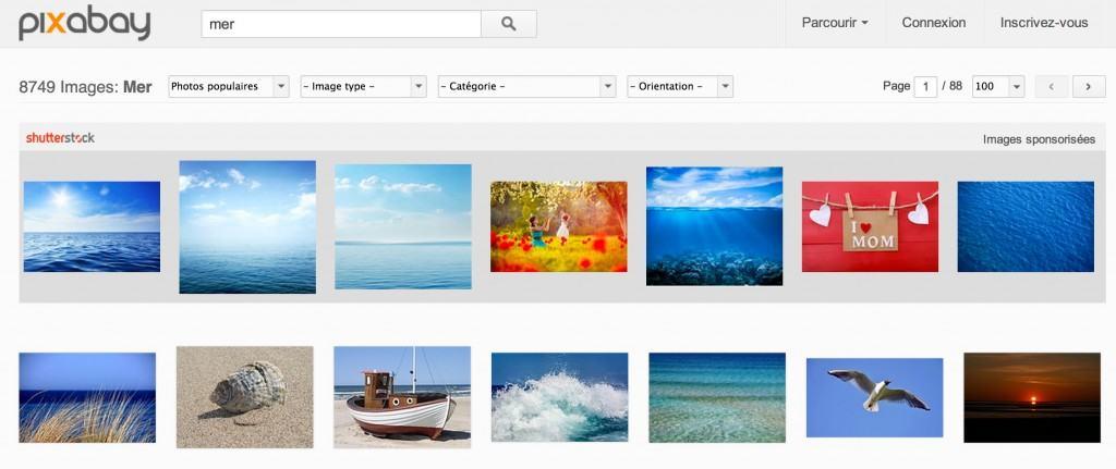 Trouvez des images gratuites et libres de droits pour votre site ou blog sur Pixabay