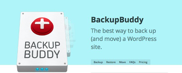 Sauvegardez régulièrement votre site avec BackupBuddy