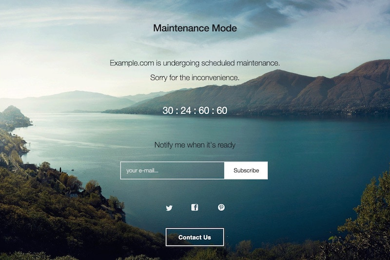 Mettez votre site WordPress en mode maintenance avec WP Maintenance Mode