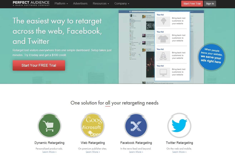 Perfect Audience : une plateforme puissante de remarketing pour retoucher vos prospects à travers le Web