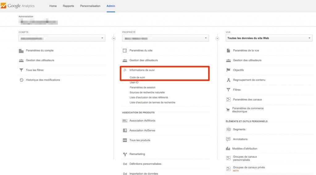 Comment trouver votre code de suivi Google Analytics
