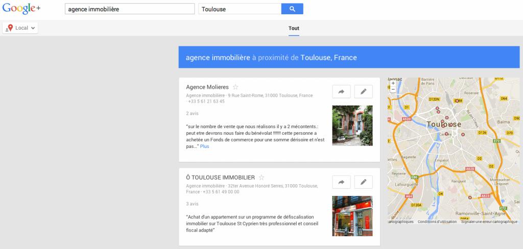 Trouvez des prospects avec Google plus