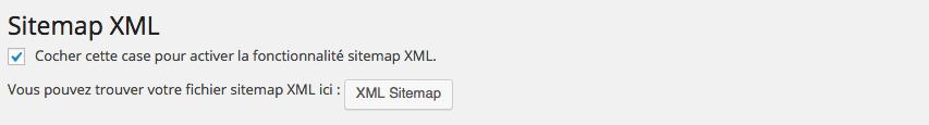 Générez une sitemap XML