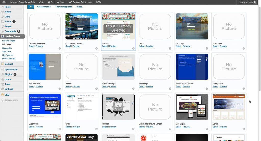 plugin WordPress gratuit pour vos landing pages