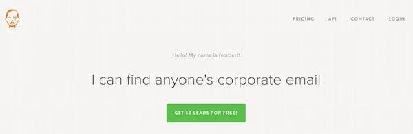 Trouvez rapidement une adresse e-mail chez Voila Norbert